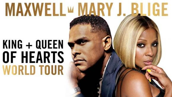 Maxwell & Mary J. Blige at Madison Square Garden