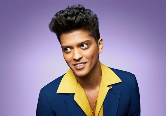Bruno Mars at Madison Square Garden