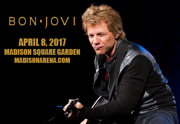 Bon jovi tickets 8th april madison square garden in Bon jovi madison square garden april 15