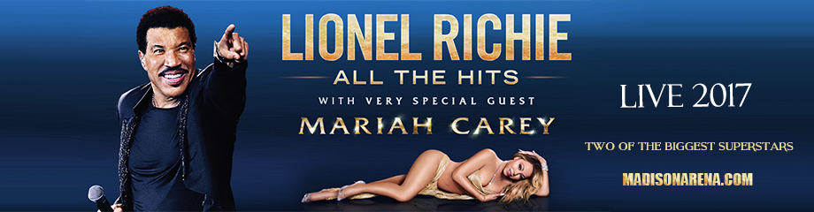 Lionel Richie & Mariah Carey at Madison Square Garden