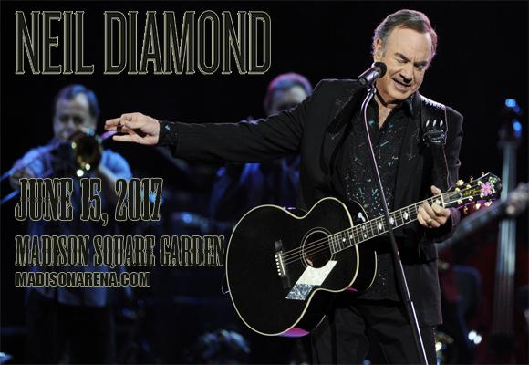 Neil Diamond at Madison Square Garden
