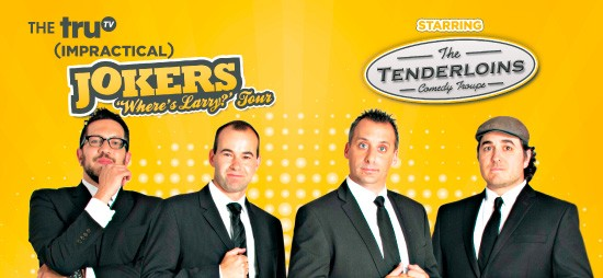 Cast of Impractical Jokers & The Tenderloins at Madison Square Garden