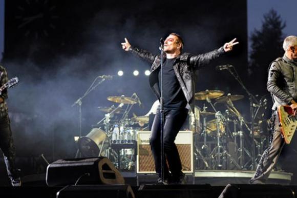 U2 at Madison Square Garden