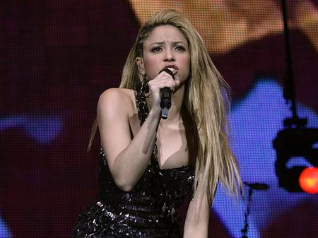 Shakira at Madison Square Garden