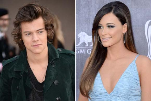 Harry Styles & Kacey Musgraves at Madison Square Garden