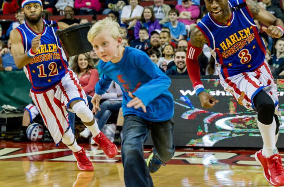 The Harlem Globetrotters Tickets 27th December Madison Square Garden In Manhatten New York