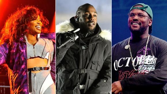 Kendrick Lamar, SZA & Schoolboy Q at Madison Square Garden