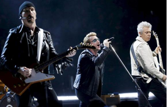 U2 at Madison Square Garden