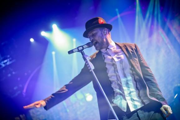 Justin Timberlake at Madison Square Garden