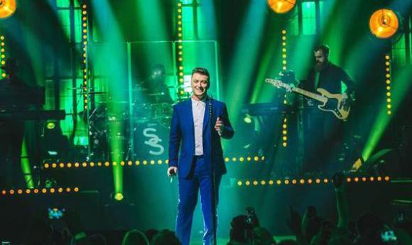 Sam Smith at Madison Square Garden