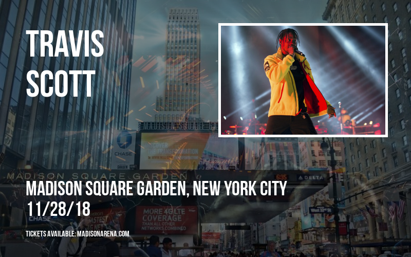 Travis Scott at Madison Square Garden