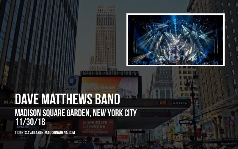 Dave Matthews Band at Madison Square Garden