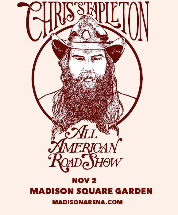 Chris Stapleton, Marty Stuart & Brent Cobb at Madison Square Garden