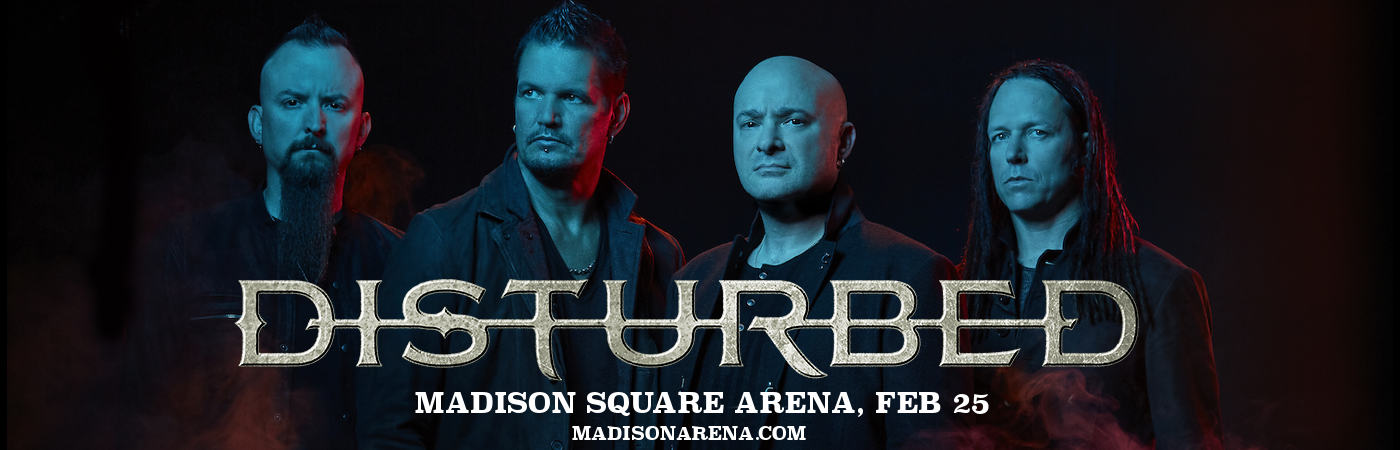 Disturbed & Three Days Grace at Madison Square Garden