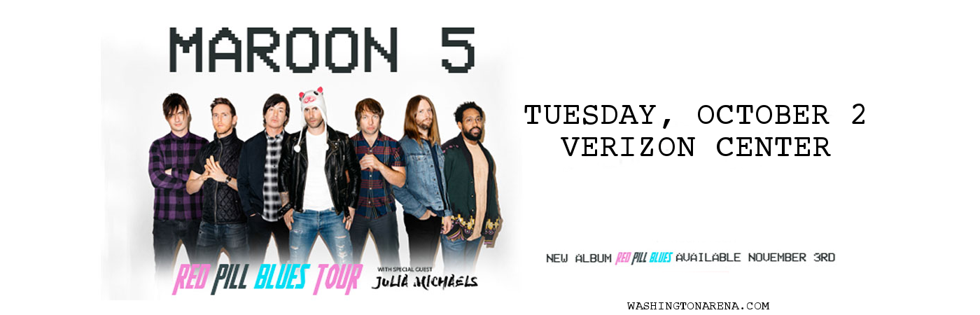 Maroon 5 & Julia Michaels at Madison Square Garden