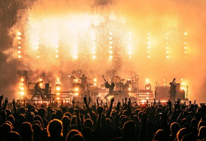 Mumford and Sons at Madison Square Garden