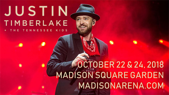 Justin Timberlake at Madison Square Garden
