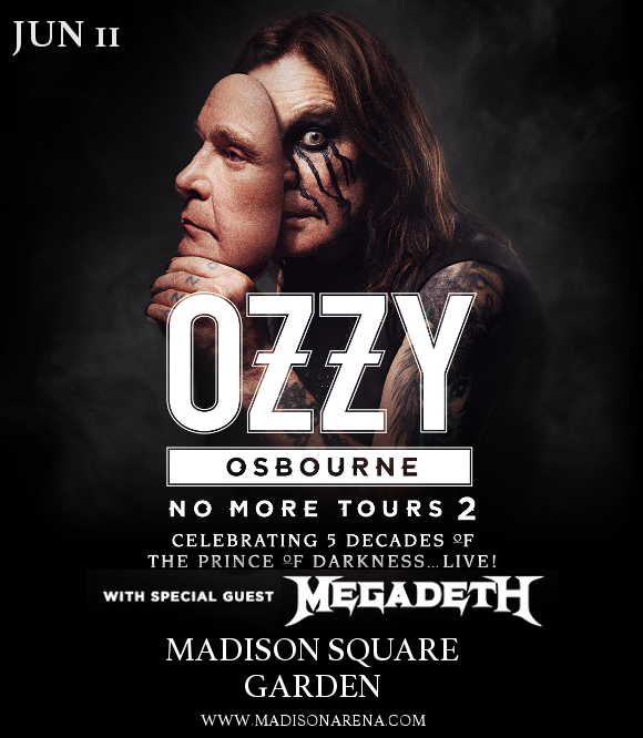 Ozzy Osbourne & Megadeth at Madison Square Garden