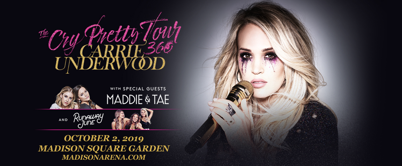 Carrie Underwood, Maddie and Tae & Runaway June at Madison Square Garden