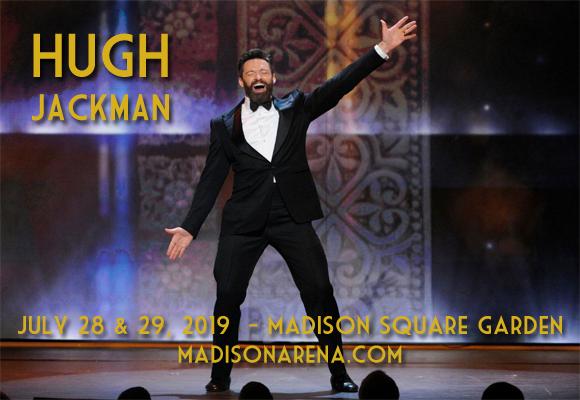 Hugh Jackman at Madison Square Garden