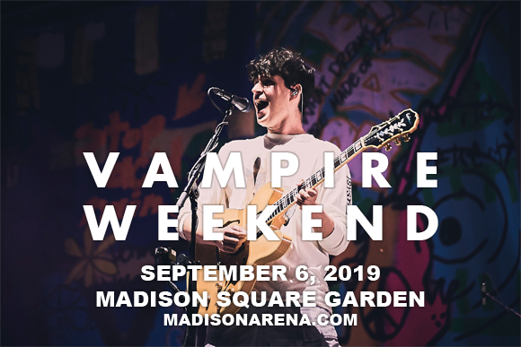Vampire Weekend at Madison Square Garden