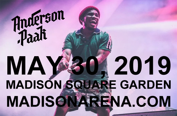 Anderson .Paak at Madison Square Garden