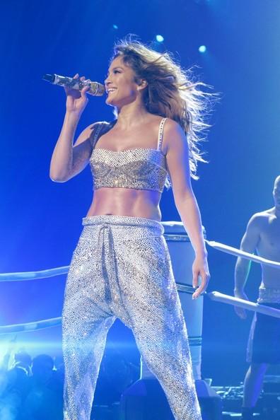 Jennifer Lopez at Madison Square Garden