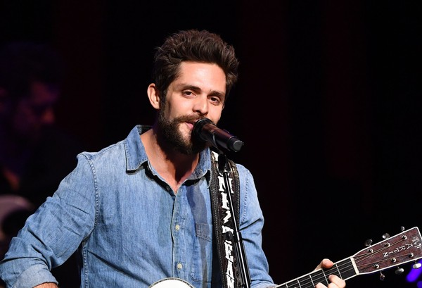 Thomas Rhett, Dustin Lynch & Russell Dickerson at Madison Square Garden