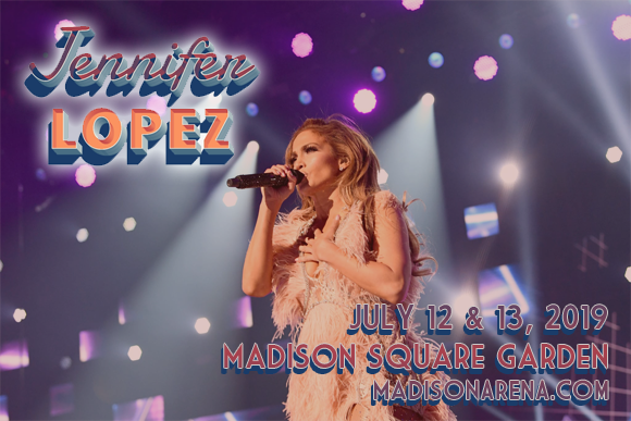 Jennifer Lopez at Madison Square Garden