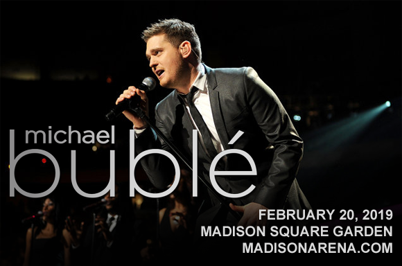 Michael Buble at Madison Square Garden