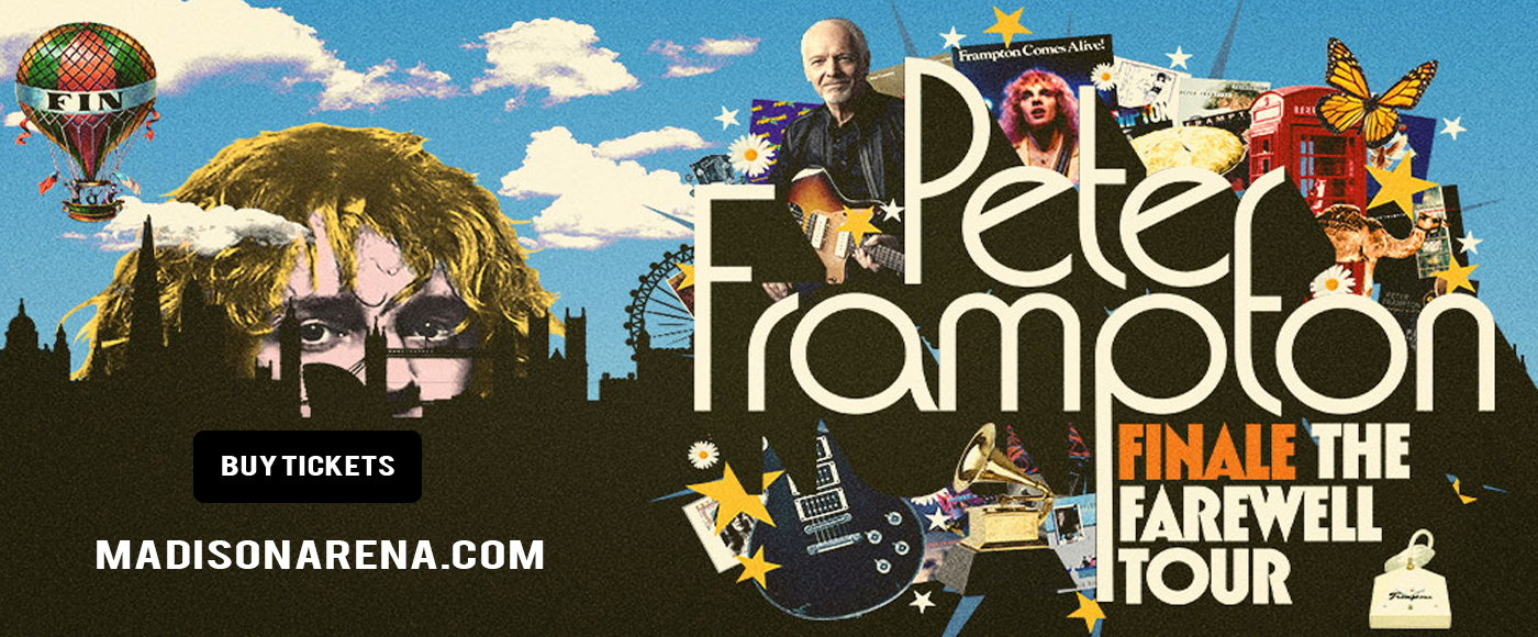 Peter Frampton at Madison Square Garden