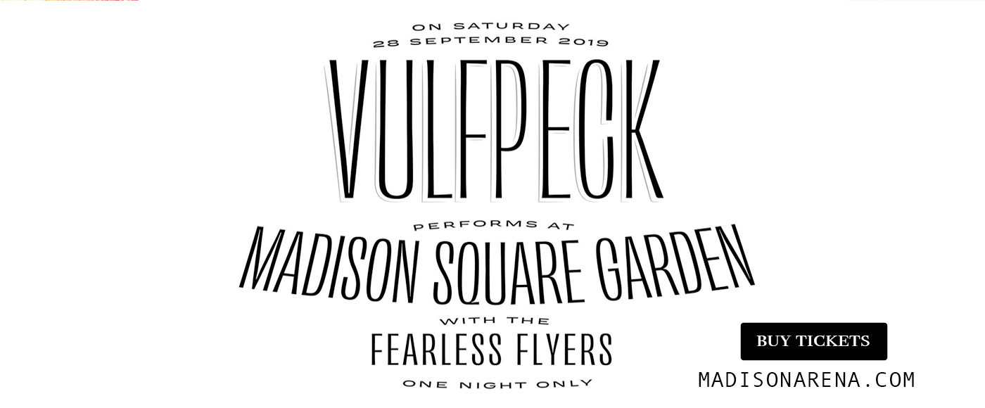 Vulfpeck & Fearless Flyers at Madison Square Garden