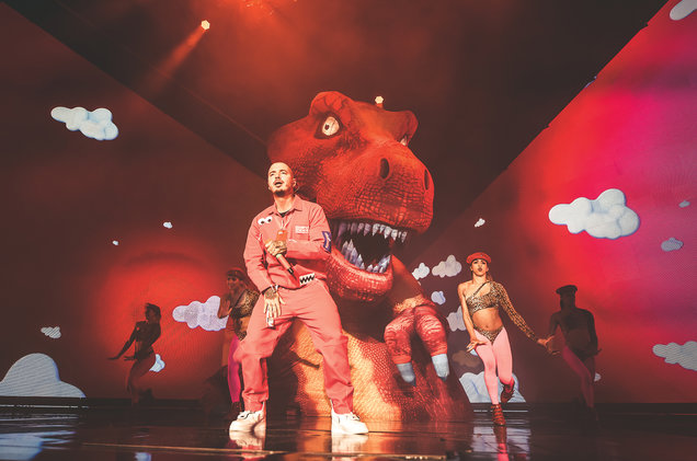 J Balvin at Madison Square Garden