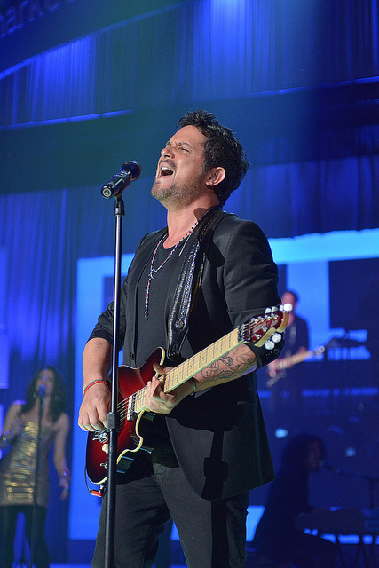 Alejandro Sanz at Madison Square Garden