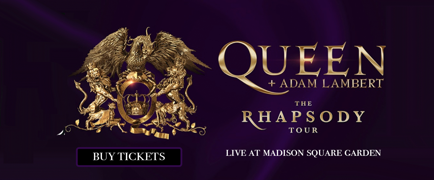 Queen & Adam Lambert at Madison Square Garden