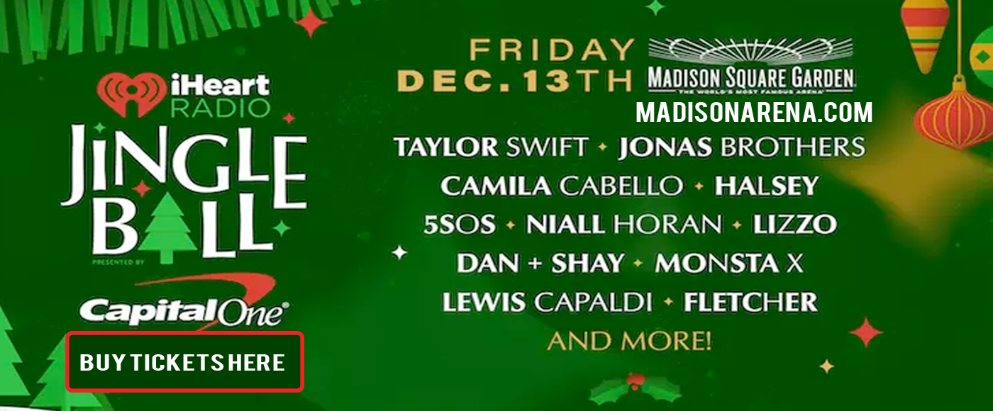 Z100's Jingle Ball: Taylor Swift, Jonas Brothers, Camila Cabello, Halsey, 5 Seconds of Summer, Niall Horan & Lizzo at Madison Square Garden