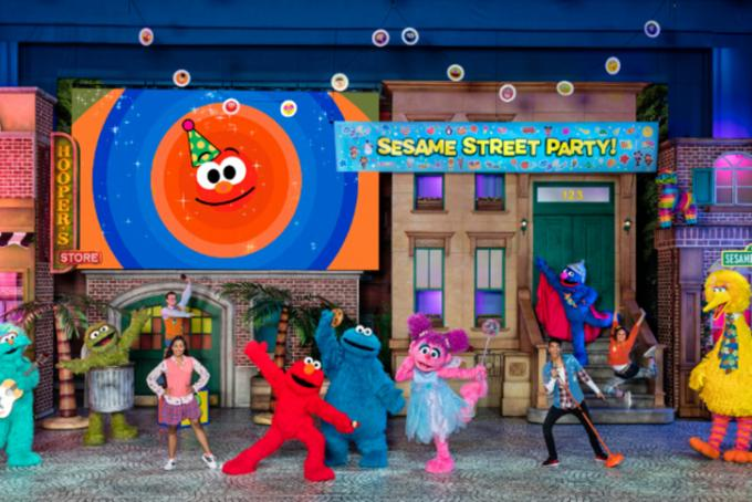 Sesame Street Live! Let's Party! at Madison Square Garden