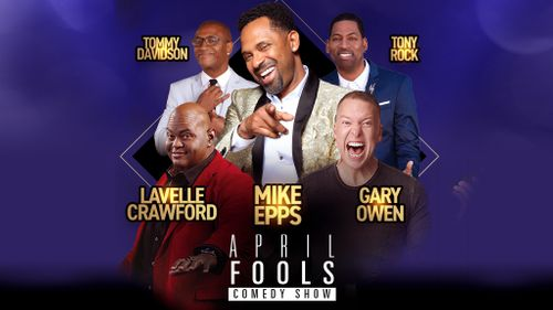 April Fools Comedy Show: Mike Epps, Gary Owen, Tony Rock, Lavell Crawford & Tommy Davidson at Madison Square Garden