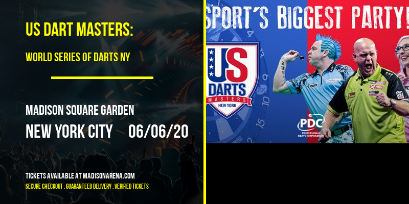 US Dart Masters: World Series Of Darts NY at Madison Square Garden