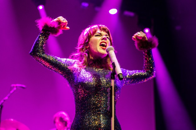Harry Styles & Jenny Lewis at Madison Square Garden