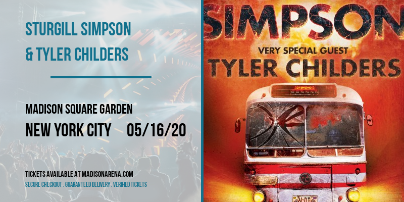 Sturgill Simpson & Tyler Childers [POSTPONED] at Madison Square Garden