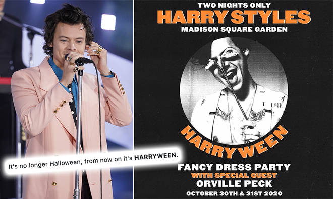 Harry Styles: Harryween Fancy Dress Party at Madison Square Garden