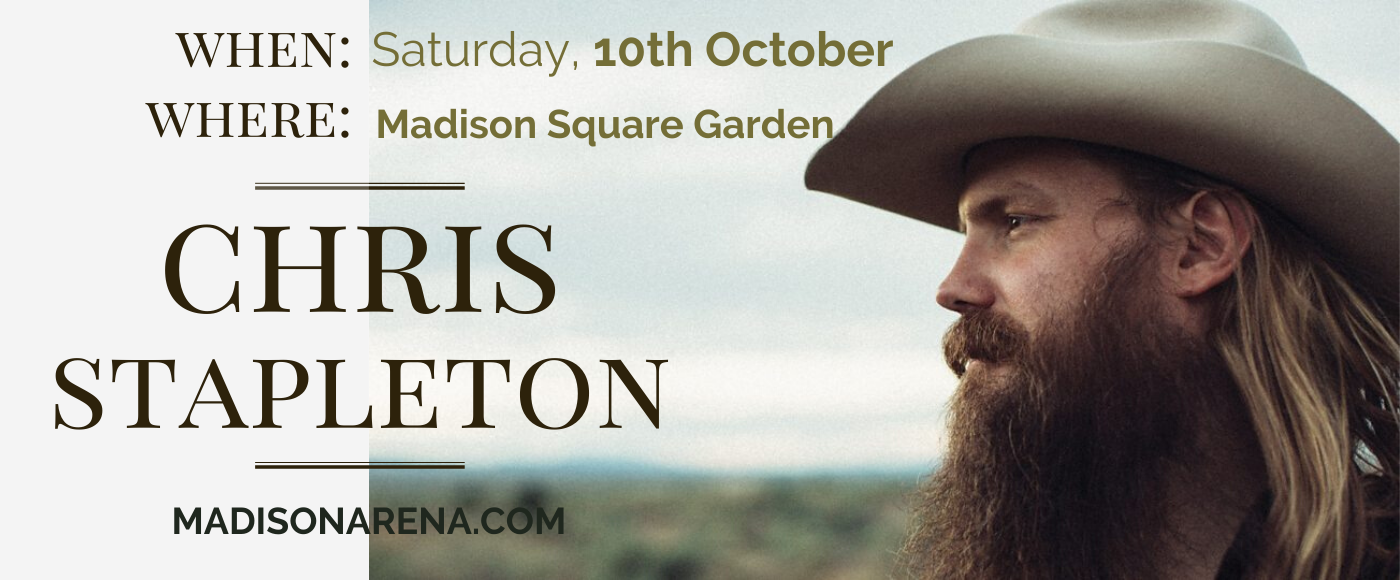 Chris Stapleton at Madison Square Garden