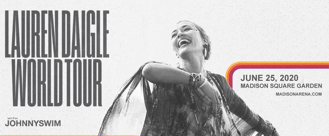 Lauren Daigle & Johnnyswim at Madison Square Garden