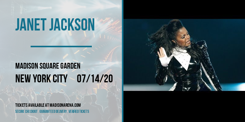 Janet Jackson [CANCELLED] at Madison Square Garden