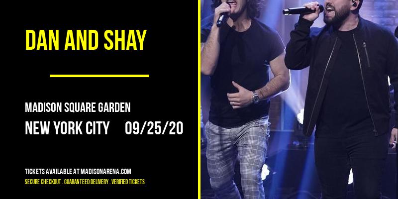 Dan And Shay [POSTPONED] at Madison Square Garden