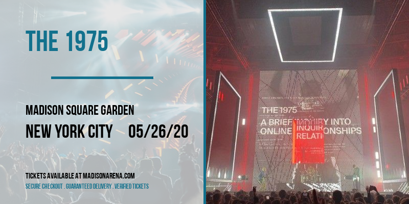 The 1975 [CANCELLED] at Madison Square Garden