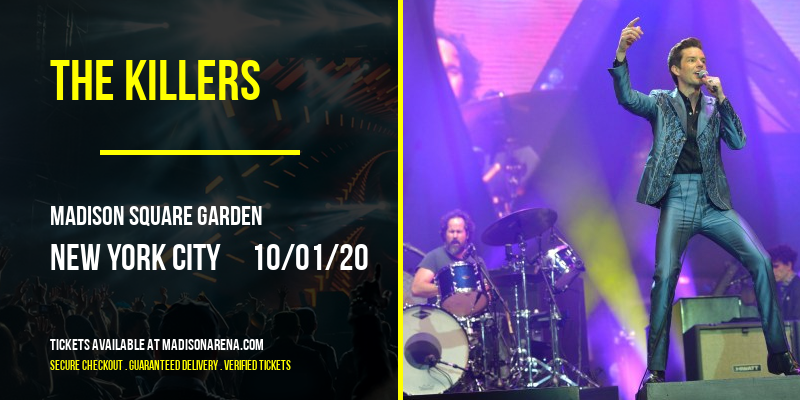 The Killers [POSTPONED] at Madison Square Garden