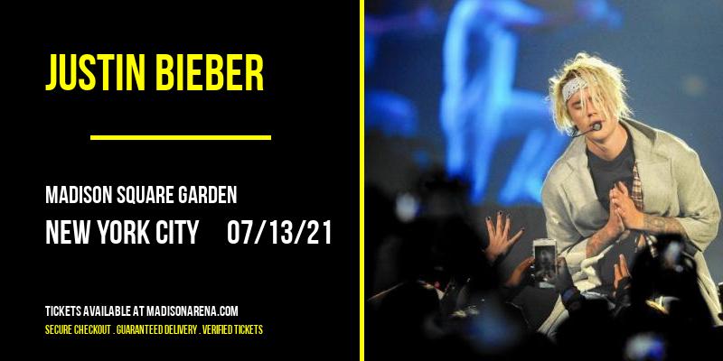 Justin Bieber at Madison Square Garden