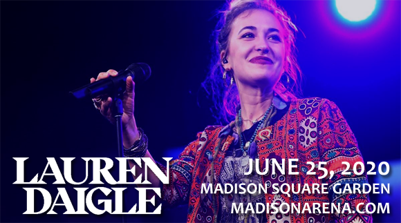 Lauren Daigle & Johnnyswim [CANCELLED] at Madison Square Garden
